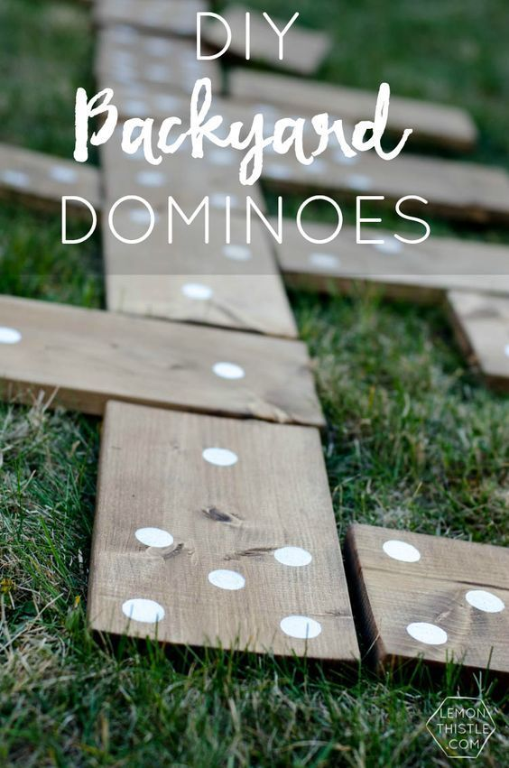 Outdoor decorating diy projects outdoor games do it yourself outdoor decorating diy projects outdoor games do it yourself backyard dominoes so fun for coo solutioingenieria Gallery