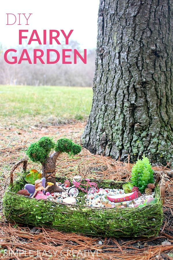 Outdoor Decorating/Gardening : FAIRY GARDEN IDEA :: #fairygarden  #fairygardenideas #diyfairygarden #michaelsmaku2026
