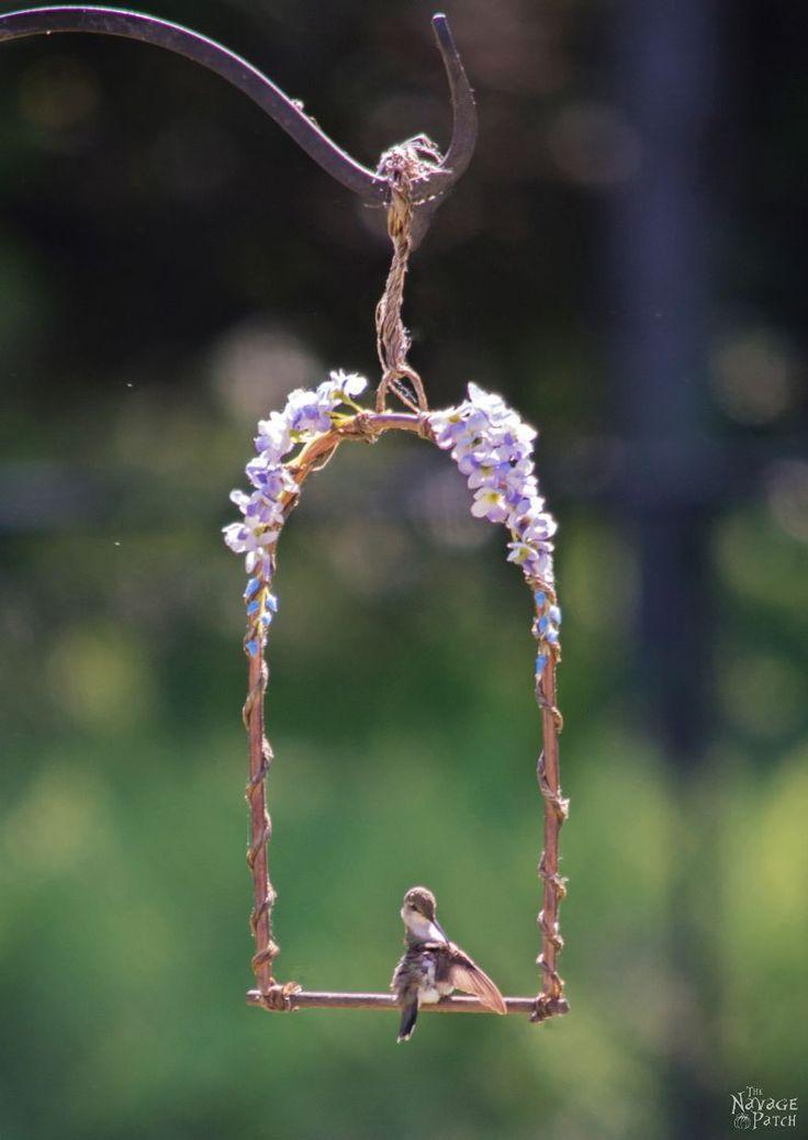 Diy Hummingbird Perch The Navage Patch