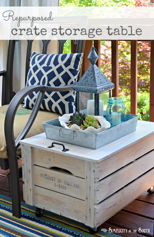 outdoor diy projects diy ideas turn a shipping crate into an