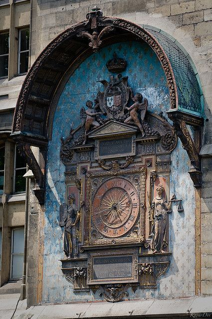 The first public clock of Paris, installed during Charles V's reign
