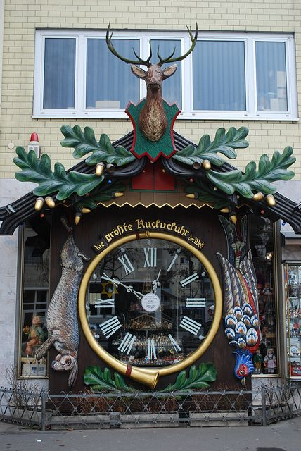 World's Largest Cuckoo Clock Wiesbaden