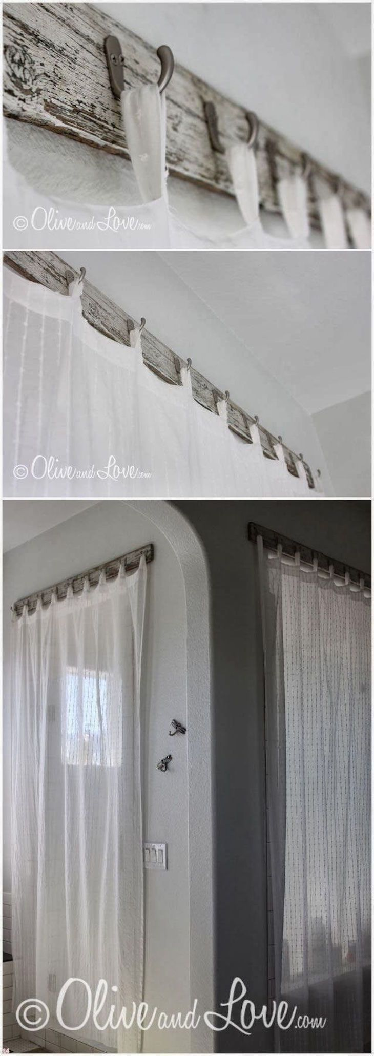 Not only curtains but also a stylish curtain rods can brighten up your space. Th...