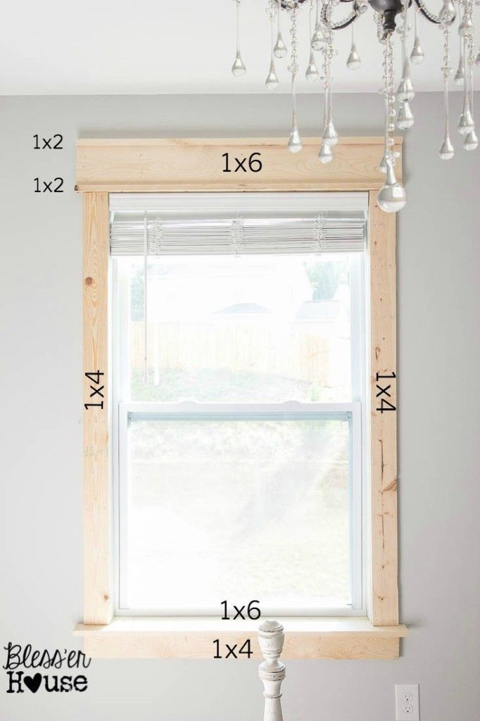 Frame your windows! This is much cheaper to do yourself and with a little effort...
