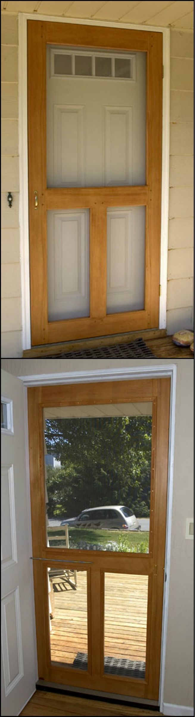 Decor Hacks How To Build A Screen Door Theownerbuilderne