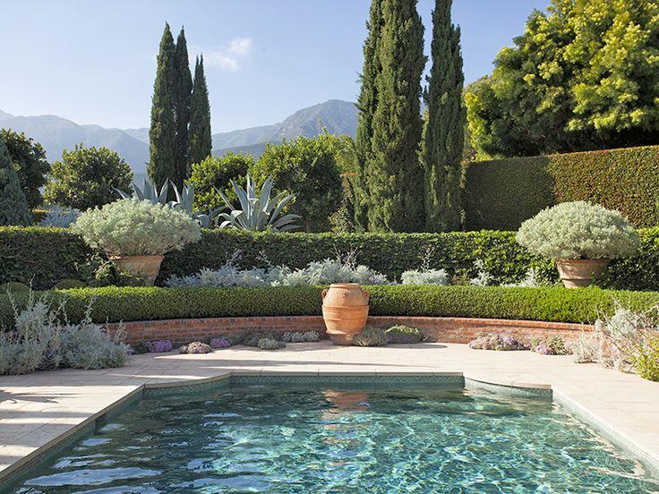 Decor Pools John Saladino Via The French Tangerine
