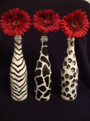 wine bottle craft ideas - Google Search