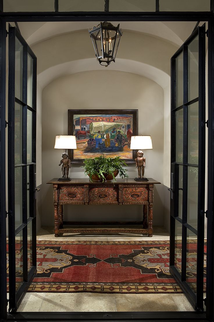Furniture Entryway Beautiful Spanish Colonial Entry On This