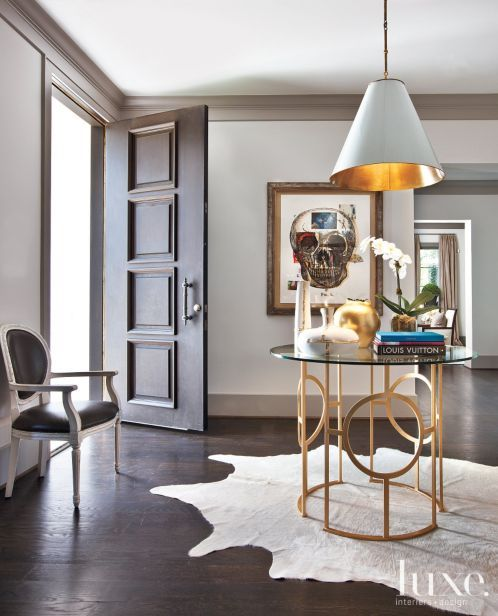 Stucco, Center-Hall French Revival Home | LuxeSource | Luxe Magazine - The Luxur...