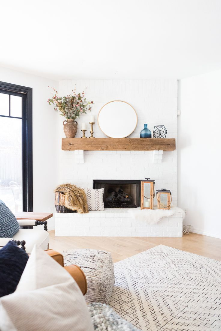 Home Decorating Diy Projects White Painted Brick