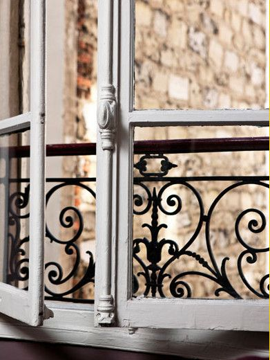 A Parisian window -- Make it your own with our vast selection of cremone bolts a...