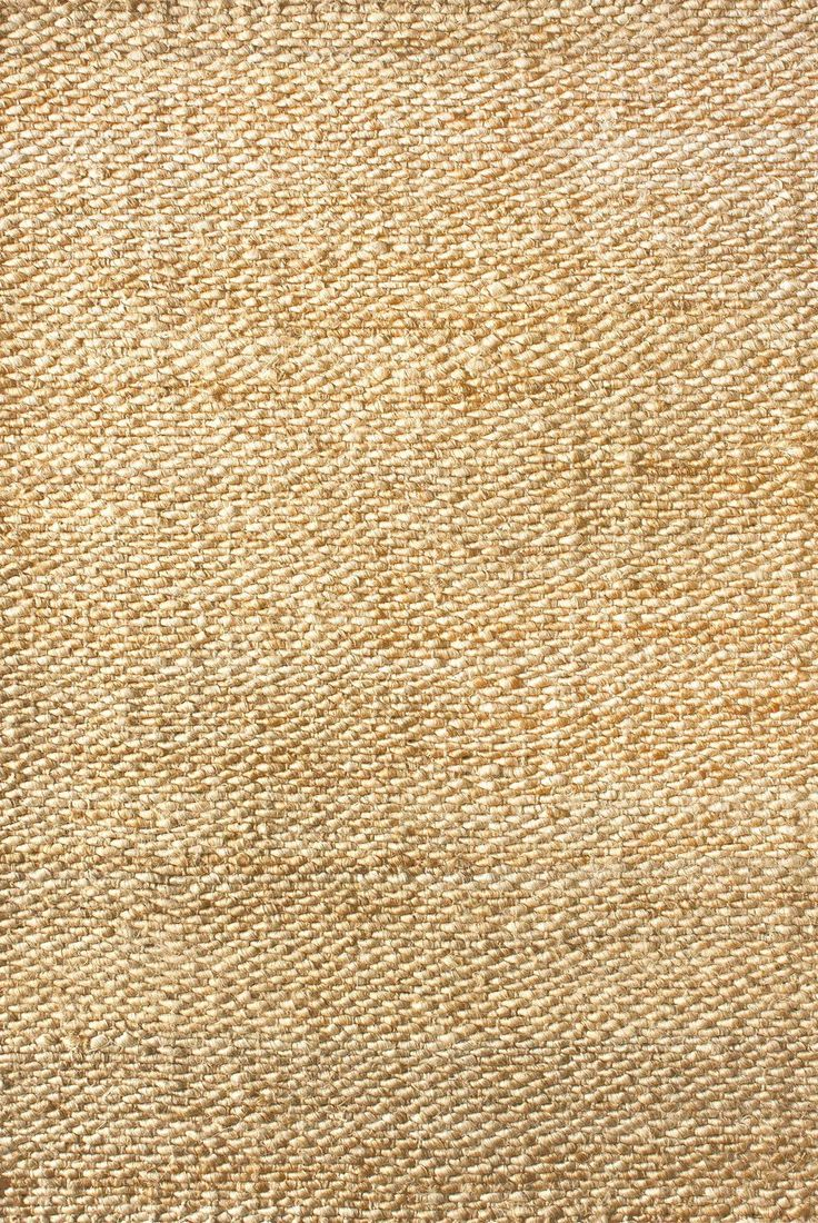 Rugs USA Natural Natura Handspun Jute rug - Natural Fibers Runner 2' 6