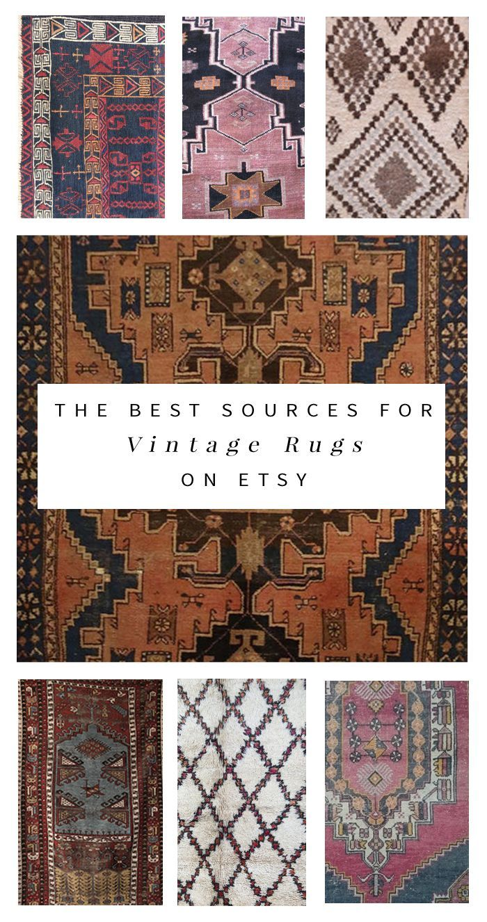 Affordable Vintage Rugs - Best of Etsy