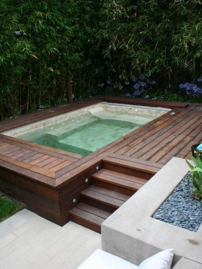 Exterior, The Benefits of Getting Backyard Swimming Pool : above ground backyard...