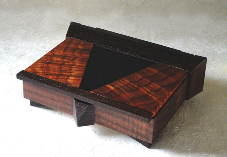 Exotic Wood Boxes Jewelry, Watch, Eyeglass, Keys and Remote Control Storage Boxe...
