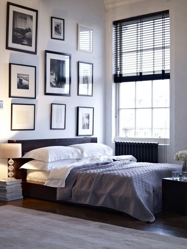 A SINGLE MAN: Some Masculine Bedrooms for The Fellas