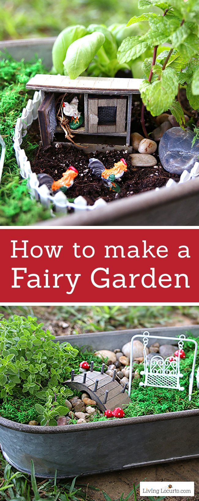 Outdoor Decorating/Gardening : How to Make the CUTEST Fairy Garden
