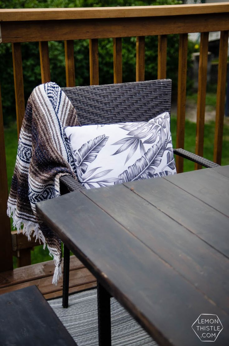 We gave our deck a quick refresh in partnership withHomeRightand I am so hap...