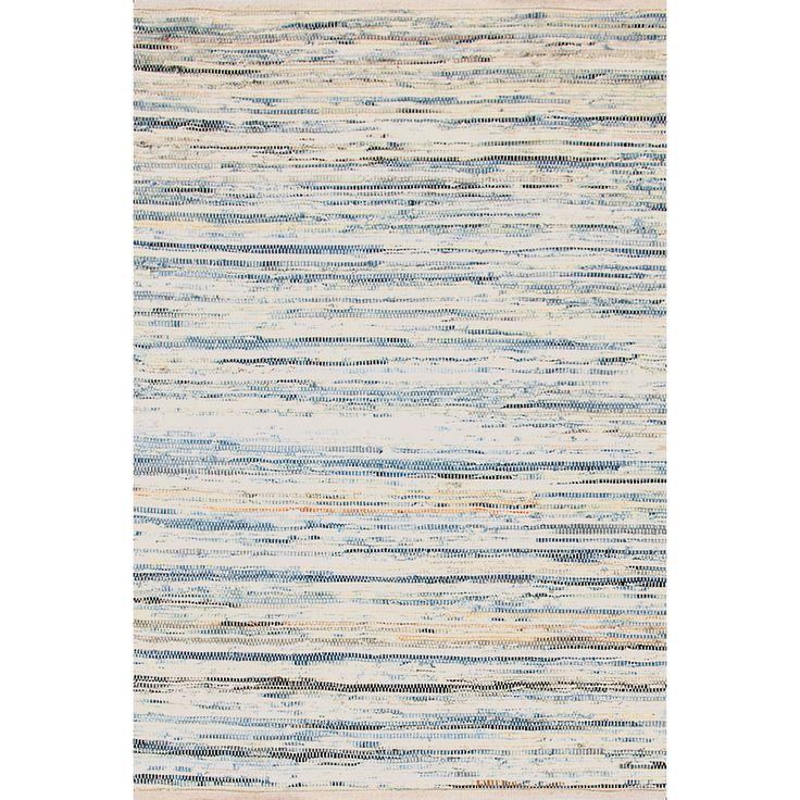 Denim Rag Woven Cotton Rug | Dash & Albert
