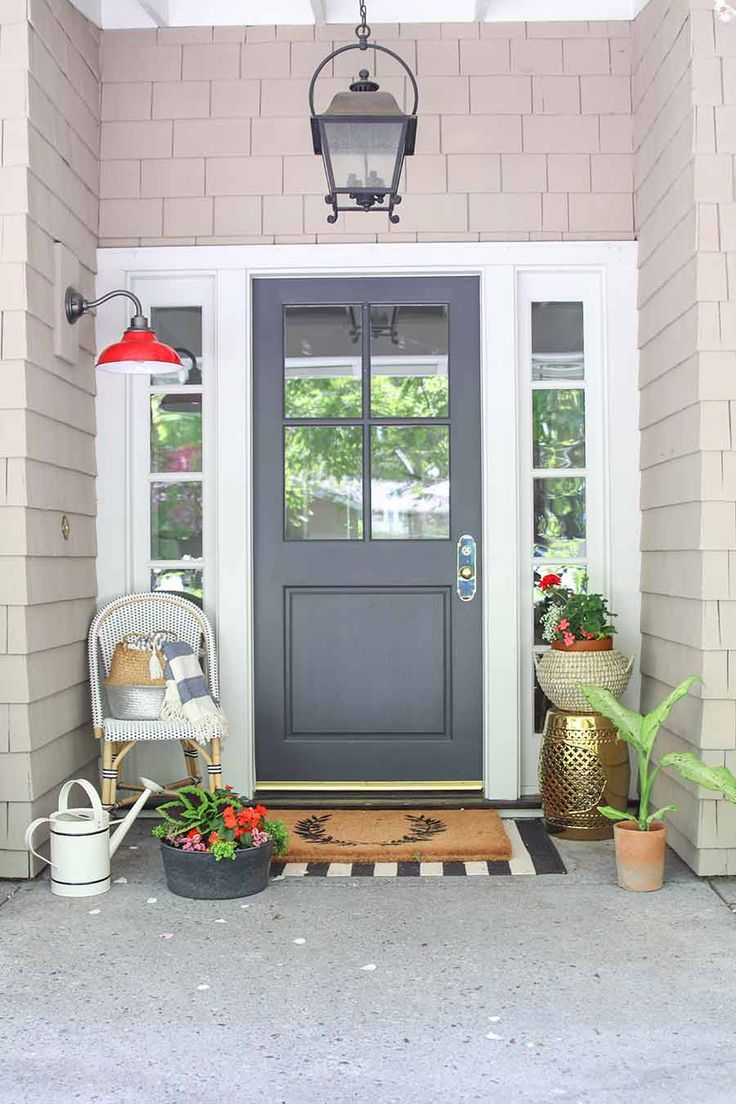 Outdoor Decorating/Gardening : My Summer Front Porch Tour ...