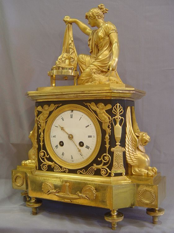 French OR empire OR style OR clocks