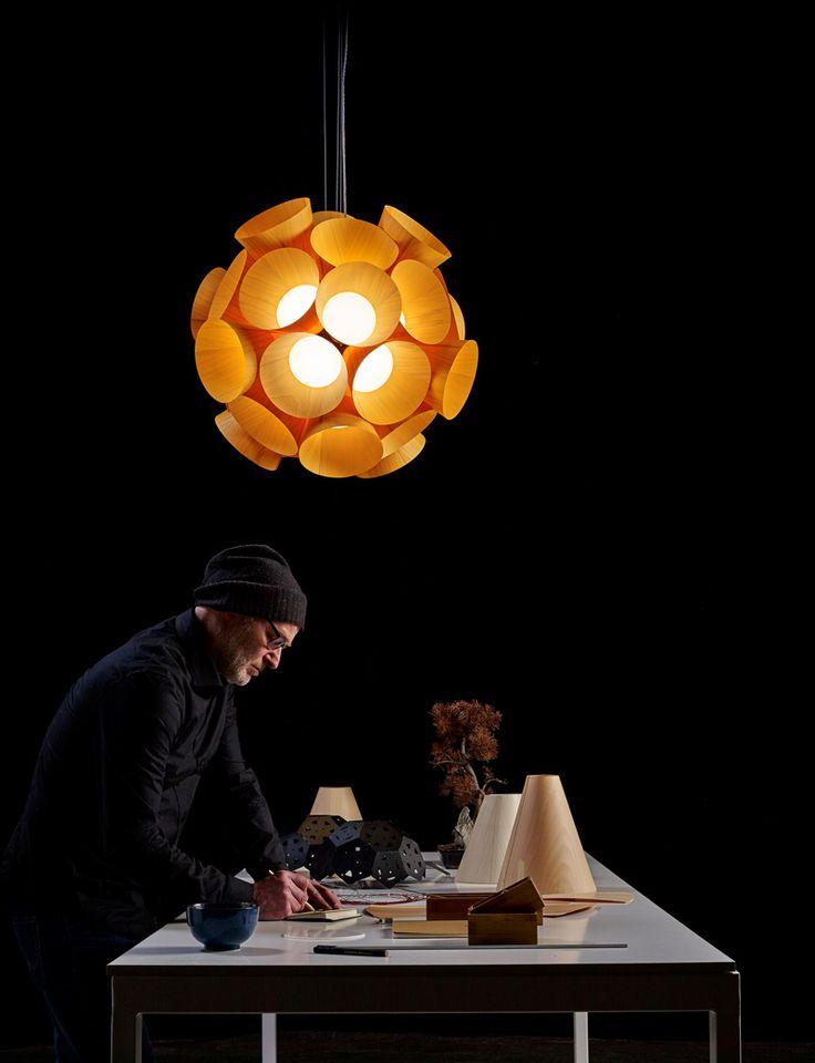Burkhard Dämmer Designs The Dandelion Lamp For LZF