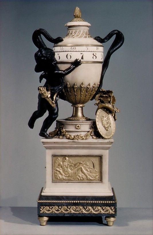 Clock - Clockmaker: workshop of Jean-Baptiste Lepaute (1727–1802) Maker: and P...