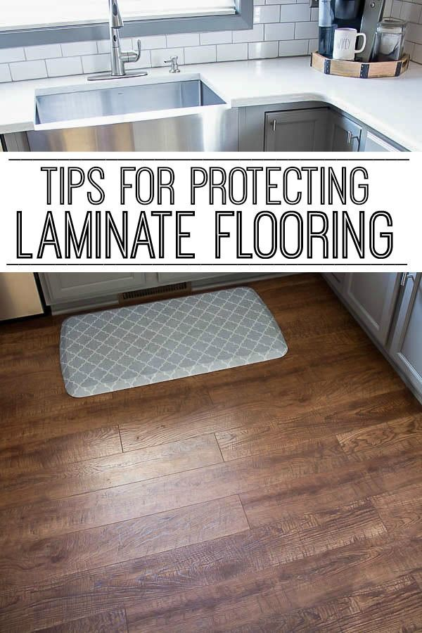 Want to keep your laminate flooring looking like brand new? My easy tips for pro...