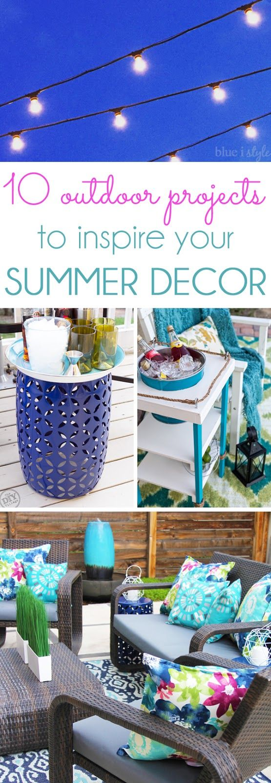 {outdoor style} 10 Outdoor Projects to Inspire Your Summer Decor