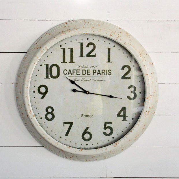 Paris Cafe Classic Clock