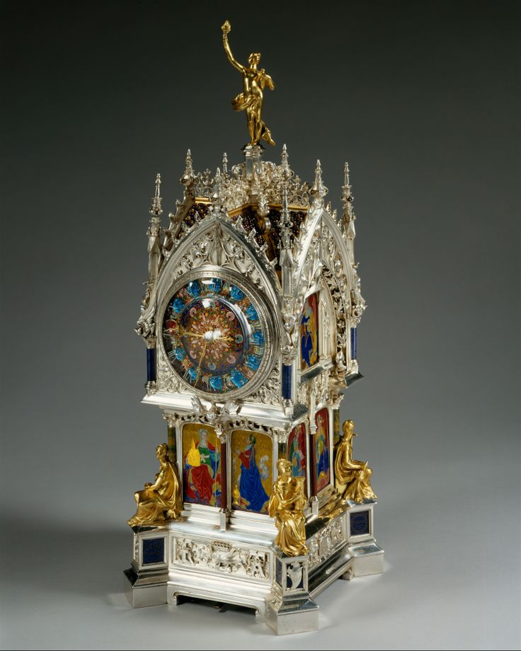 Clock Designer of case and enamel: Lucien Falize (French, Paris 1839–1897 Pari...