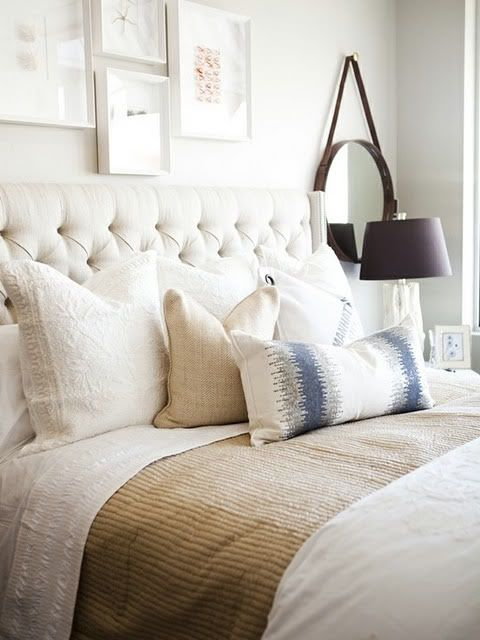 Taupe Bedroom Ideas: Bedrooms : Off-white & Taupe Bedroom
