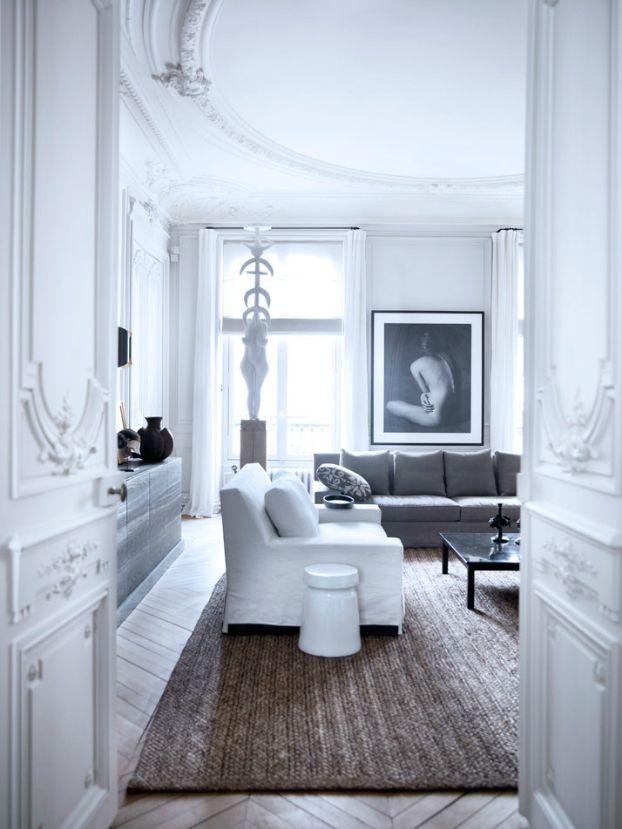 Historic Parisian Apartment with Contemporary Art