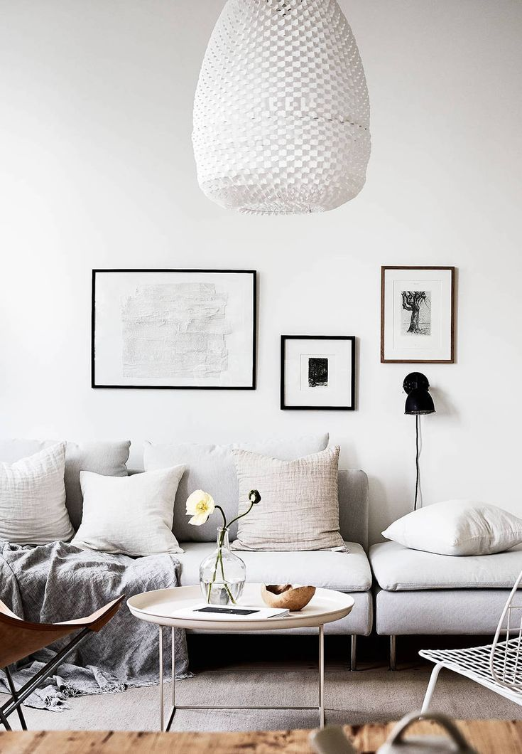 White home with warm details