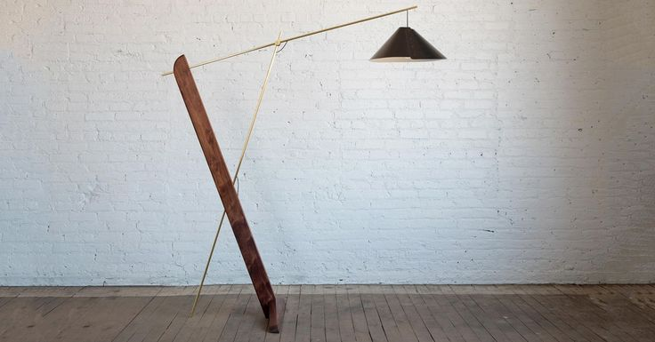 #DailyProductPick The Balance Lamp by Todd St. John gets its name from a thin br...