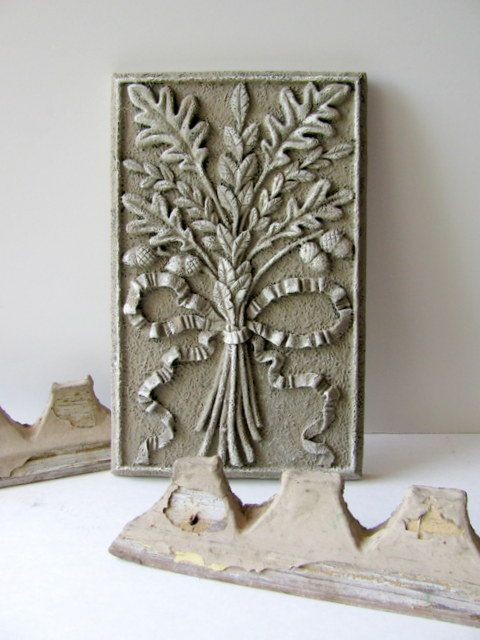 Decorative Architectural Acorns and Oak Leaves by ADoseOfAlchemy