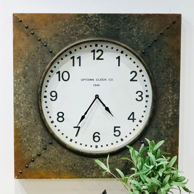 Classic Square Wall Clock