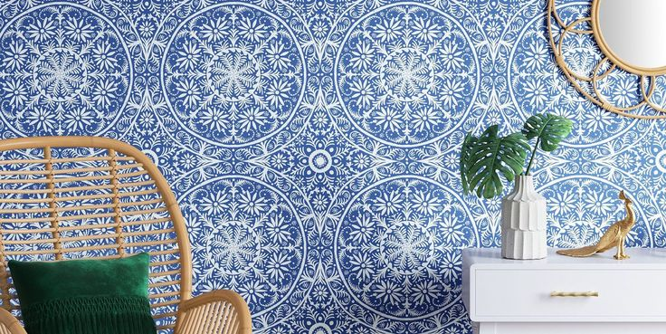 24 Removable Wallpapers That Look Like the Real Thing But Cost Half As Much