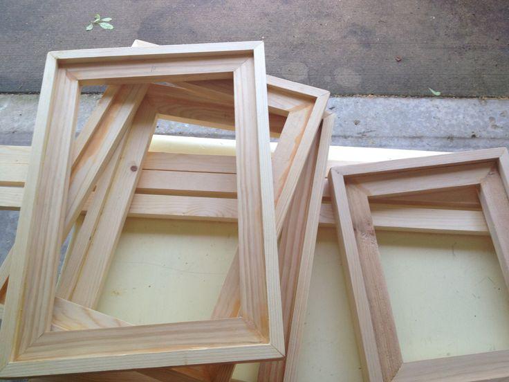 DIY Easy Barnwood Frame and Free Printables
