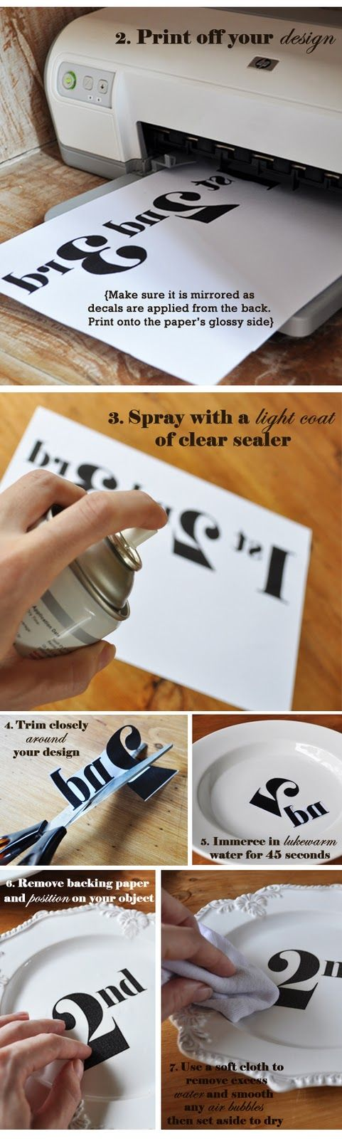 DIY decal how to