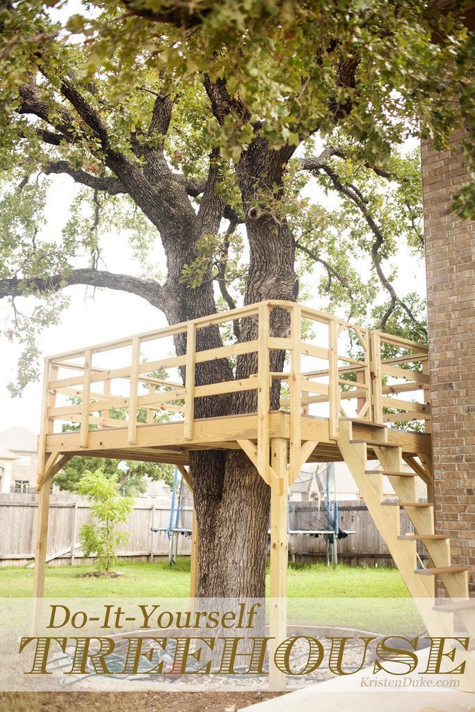 Build Your Own Treehouse, tips and tricks and tools on how we built it. Plan and...