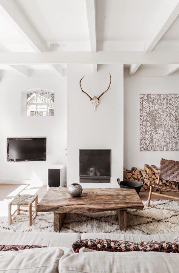 A serene Dutch home in whites and browns (via Bloglovin.com )