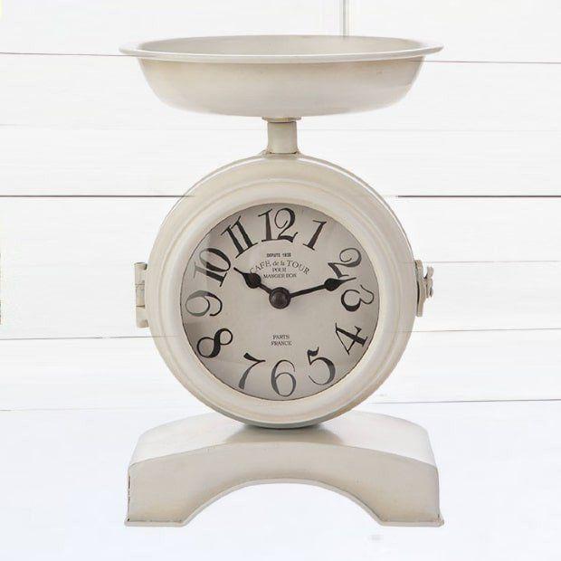 Modern Farmhouse Scale Clock #scale #clock