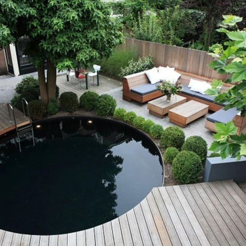 Outdoor Spaces - No-Grass Garden Design
