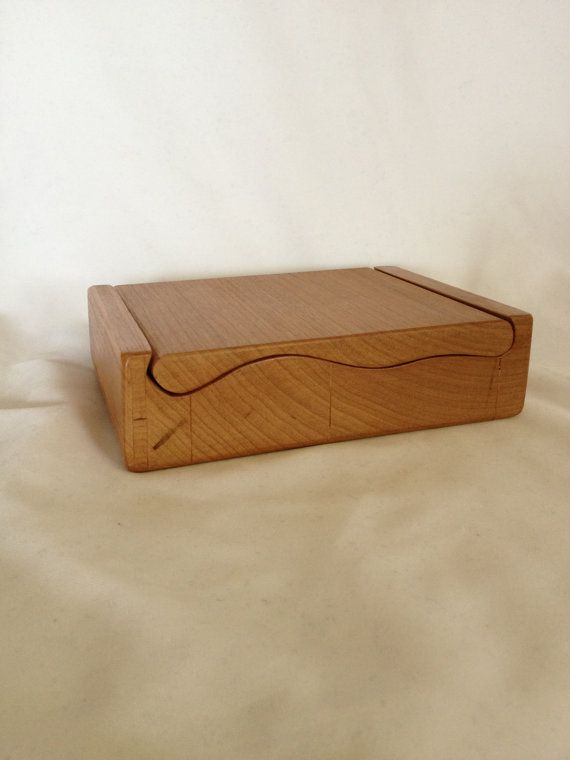 Custom Cherry Wood Bandsaw Storage or Jewelry by BCBandsawBoxes, $25.00
