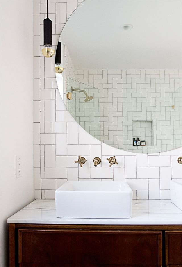 Love the tile pattern!