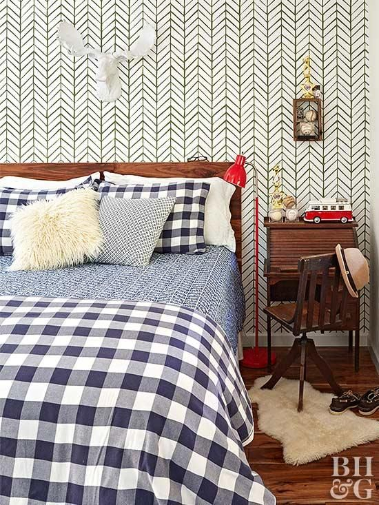 plaid buffalo check bedding - affordable decor pieces