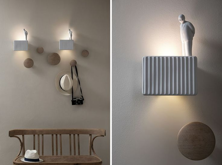 Lamps And Lighting Home Decor Italian Company KARMAN Has Released Umarell A Fun Wall Lamp That Was