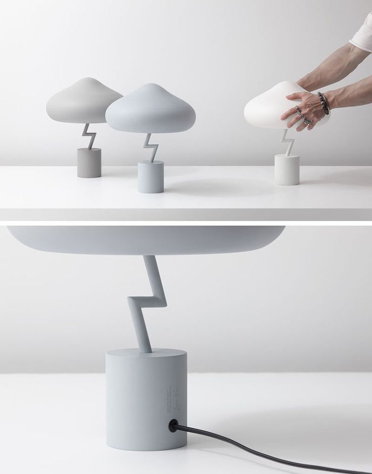 South Korean designer Jinyoun Kim has created the Lightning Lamp, which was insp...