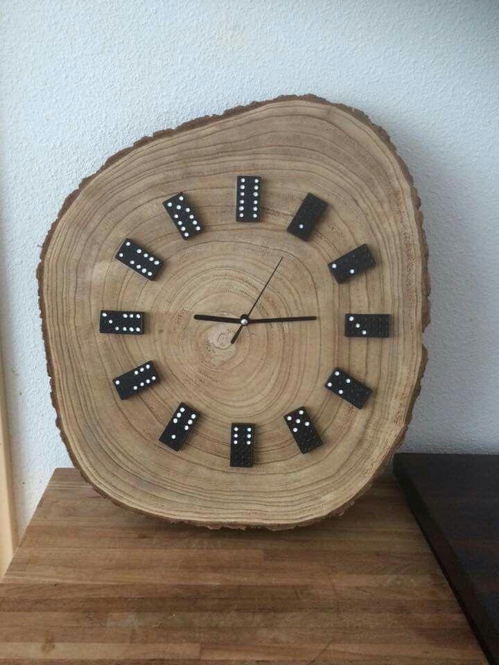 DIY wooden clock